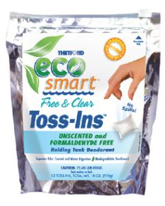 Thetford Eco-Smart Free & Clear Toss-Ins, 12 Packets