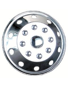Wheel Masters Al-160 Wheel Cover Per Each - Stainless Steel Wheel Covers