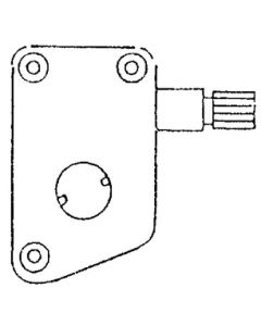 Strybuc Industries R H Slant Sill Operator - Strybuc Window Parts