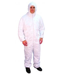 Buffalo Industries Polypro Hooded Coveralls, XL