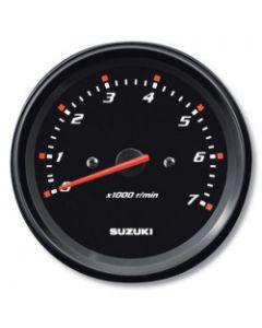 "Suzuki 4"" Black Tachometer w/o Monitor Functions 34200-93J20"