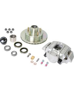 UFP by Dexter Zinc+ Hub, Ventilated Rotor And Caliper Kit