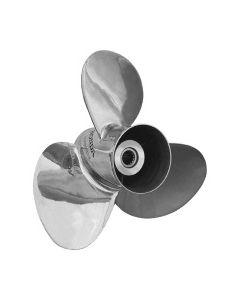 "Honda Marine New Saturn  15.63"" x 11"" pitch Standard Rotation 3 Blade Stainless Steel Boat Propeller"