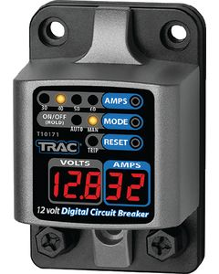 Trac Outdoor Products Circuit Breaker, 30-60A, with Display
