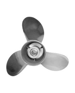 "Honda Marine Saturn  12.25"" x 9"" pitch Standard Rotation 3 Blade Stainless Steel Boat Propeller"