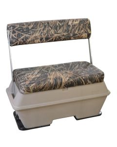 Wise Scout Series 70 qt. Swingback Camo Pontoon, Shadow Grass Vinyl