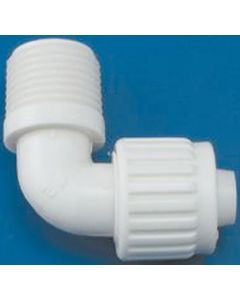Elkhart Supply Co 1/2 X1/2 Mpt Flair-It Elbow - Flared- Cone & Nut Fittings