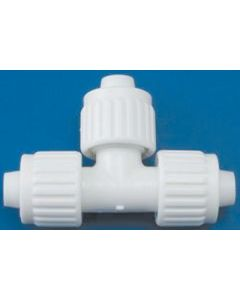 Elkhart Supply Co 1/2 X1/2 X1/2  Tee Flair-It - Flared- Cone & Nut Fittings