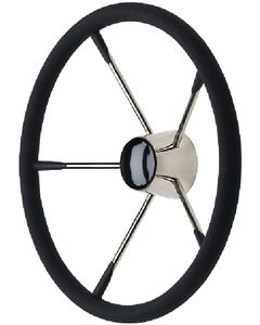 """Seachoice 15 1/2"""" Destroyer Steering Wheel W/ Foam Grip"""