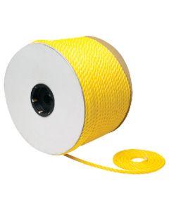 Seachoice Boat Rope, Twisted Polypropylene, Yellow