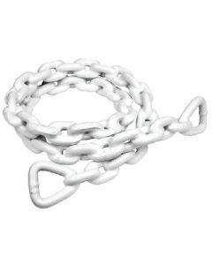 Seachoice Anchor Lead Chain, White PVC Coated Marine Chains