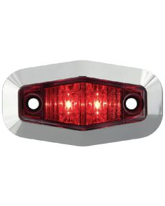 Seachoice MINI SEALED LED MARKER RED