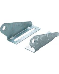 Seachoice Split Keel Roller Bracket, 9 Gauge Galvanized Steel