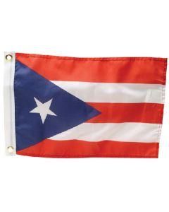 """Seachoice Puerto Rico Flag, Dyed, 12"""" x 18"""""""