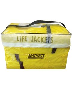 Seachoice Universal Life Vest 4 Pack, Adult Sized, Type II PFD, Yellow