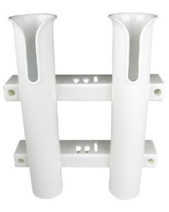 Seachoice ROD RACK-HOLDS TWO-WHITE