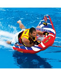"""SportsStuff Bat-X-Ray Doable Edition 1-Person 59x48"""" Controllable Boat Towable"""