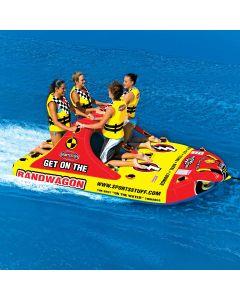 SportsStuff Bandwagon 4-Person Variable Position Boat Towable