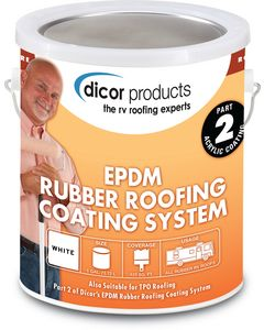 Epdm Roof Coating Tan 1/Gal - Rubber Roof Coating System
