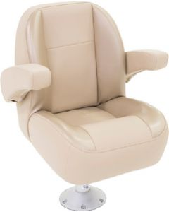Lippert Platinum Series Low Back Non-Reclining Seat w/Arms, Beige