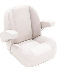Lippert Platinum Series Low Back Non-Reclining Seat w/Arms, Dove Grey
