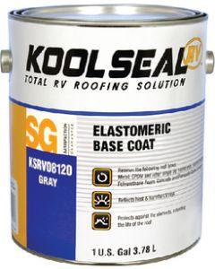 Rv Base Coat Gallon Kool Seal - Rv Elastomeric Gray Base Coat