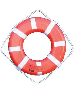 """Cal-June 24"""" G Style Life Ring W/Straps And Reflective Tape Uscg Approved"""