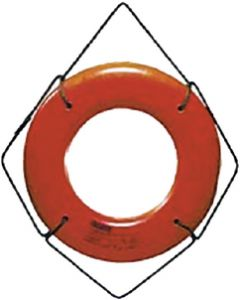 Cal-June 20in Orange Hard Shell Ring Bu
