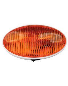 Porch Lght Ovl W/Swtch Amber - Oval Porch/Utility Light