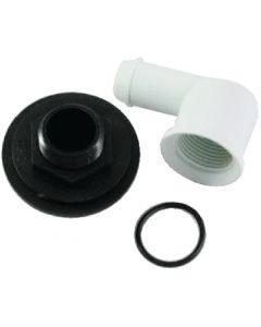 Jabsco Bowl Spud/Elbow/O-Ring