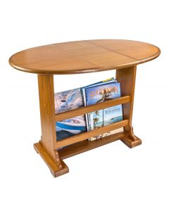 Whitecap Large Teak Drop-Leaf Table