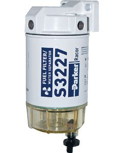 Racor Gasoline Spin-On Fuel Filter Water Separator Element With Mounting Head Npt (3), 60 Gph