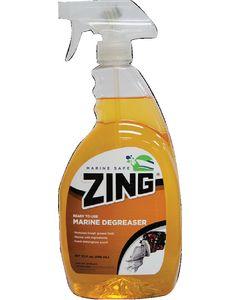 Zing All Purpose Marine Power Degreaser, 32 oz.