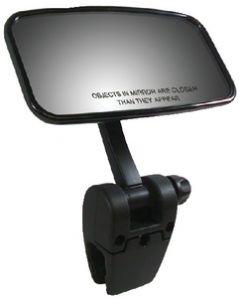 Cipa Mirrors Mirror, Pivot Cup Mount, Black 11073