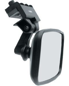 Cipa Mirrors Safety Convex 4 x 8 Rear View Boat Mirror; Windshiled/Frame Mount