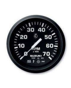 "Suzuki 4"" Black Tachometer with Monitor Functions 99105-80001"