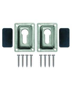 JIF Marine, LLC Flush mount Set for Ladders, 2 per package - Jif Marine