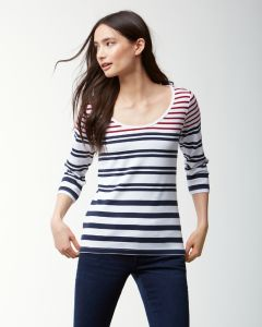 Tommy Bahama Women's Indio Sedaris Stripe Tee
