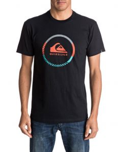 Quiksilver Men's Active Logo Blocked Tee