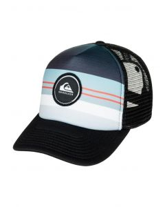 Quiksilver Men's Striped Vee Trucker Hat