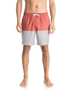 "Quiksilver Waterman Men's Breezy Stripe 18"" Volley Boardshorts"