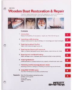 West System Wooden Boat Restoration & Repair
