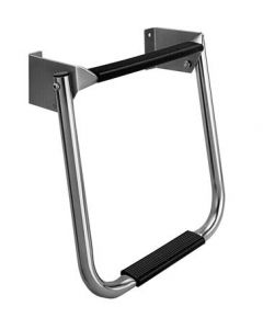 Garelick 2 Step Compact Stainless Steel Transom Folding Boat Ladder