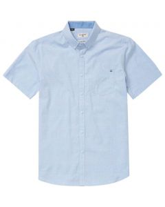 Billabong Men's All Day Chambray Short Sleeve Shirt