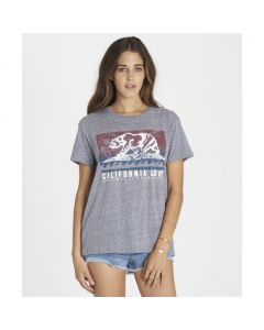 Billabong Women's Batik Cali Bear Tee