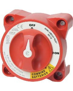 Blue Sea Systems Battery Switch Dual Circuit Plus, E-Series