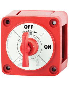Blue Sea Systems Mini Battery Switch with Key, On-Off