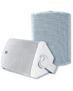 PolyPlanar Poly-Planar MA7500 Compact Box Speaker (White)