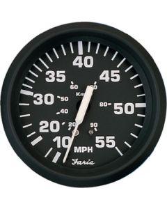"""Faria Euro Hourmeter 12-32 Volt Dc, 2"""""""