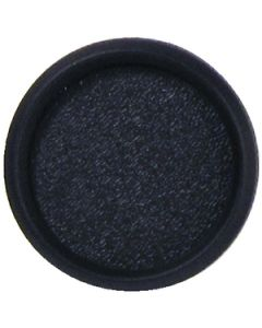 "Faria Euro Black 4"" Blank Gauge Fill"